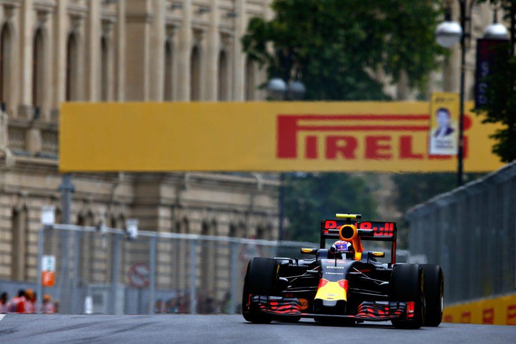 Max Verstappen kwalificatie GP Azerbeidzjan 3