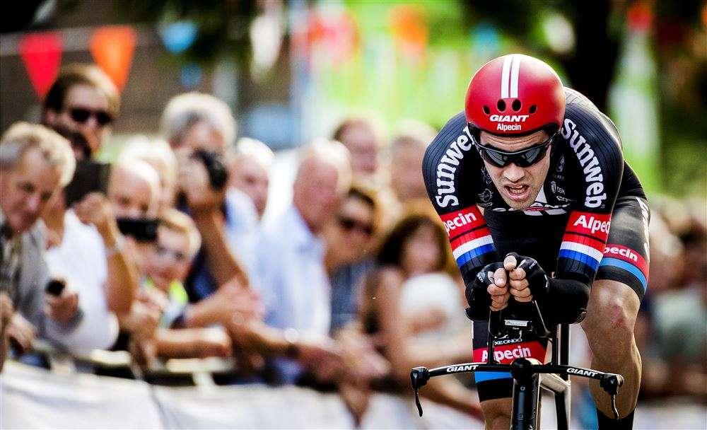 Tom Dumoulin Nederlands kampioen tijdrijden