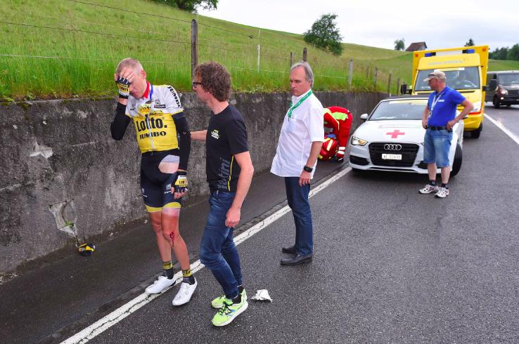 Tour de France ver weg voor Gesink
