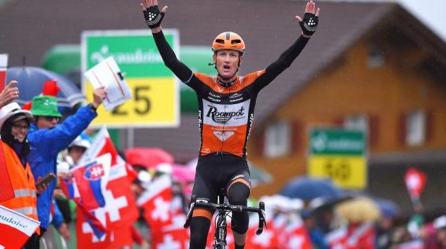 Weening wint rit in Ronde van Zwitserland