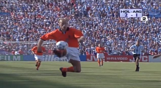 Dennis Bergkamp WK 1998