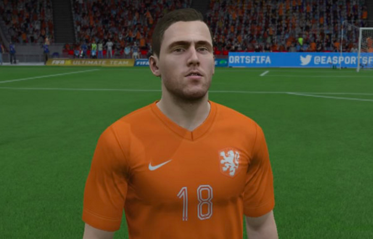 Kevin Strootman FIFA 16