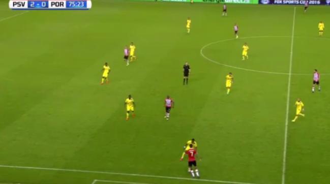 PSV schitterende goal in voorbereiding