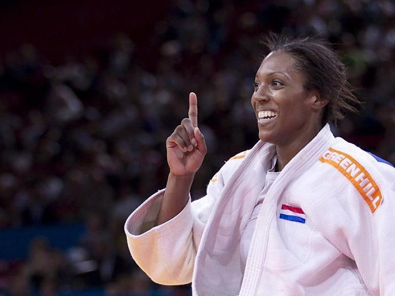 Bronzen medaille voor Annicka van Emden