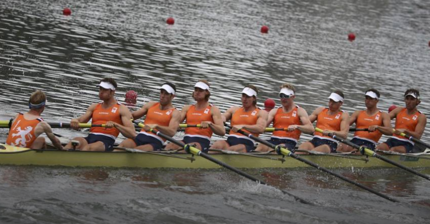 Holland Acht pakt brons