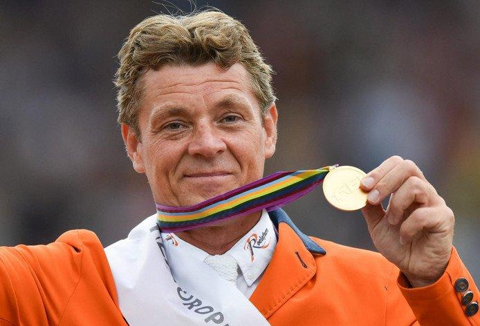 Jeroen Dubbeldam - vlaggendrager Nederland