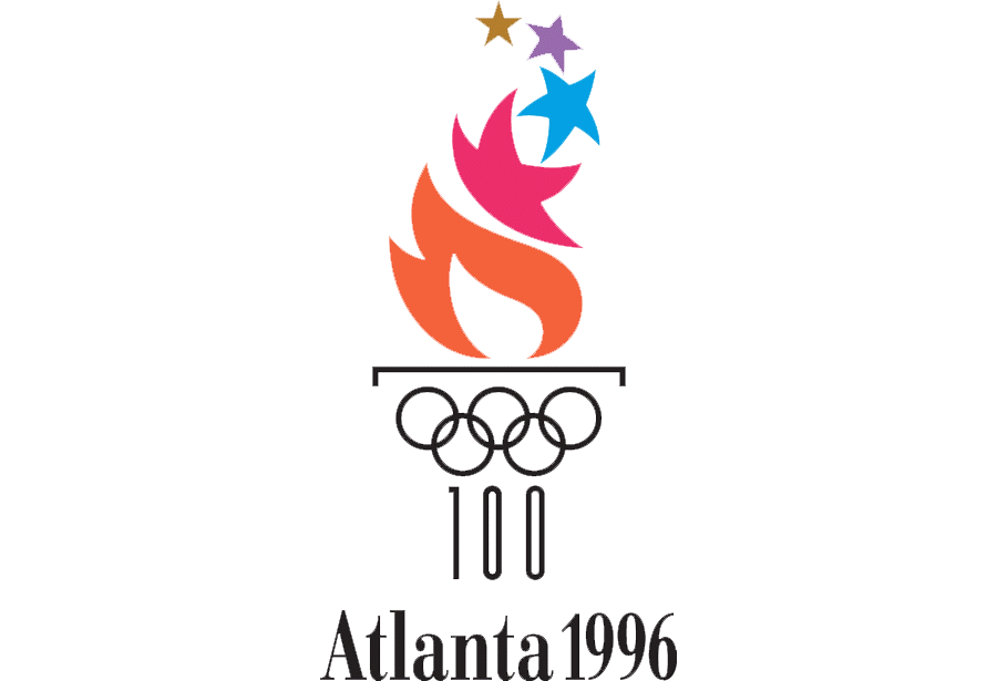 Logo Olympische Spelen 1996