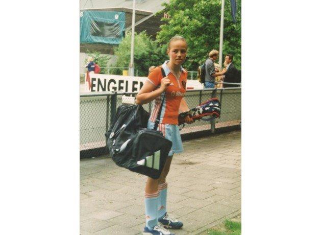 Maartje Paumen in haar jonge jaren