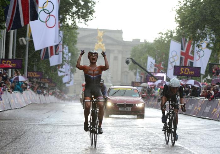 Marianne Vos wint wegrit Olympische Spelen 2012