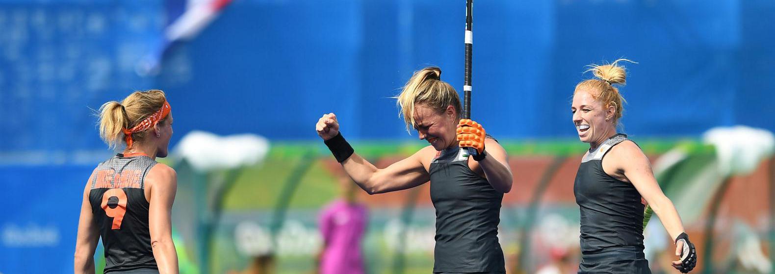Nederlandse hockeydames Olympische Spelen