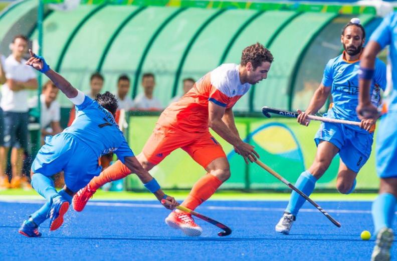 Nederlandse hockeymannen winnen van India