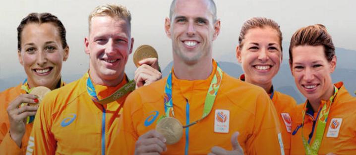 Negentien medailles voor TeamNL