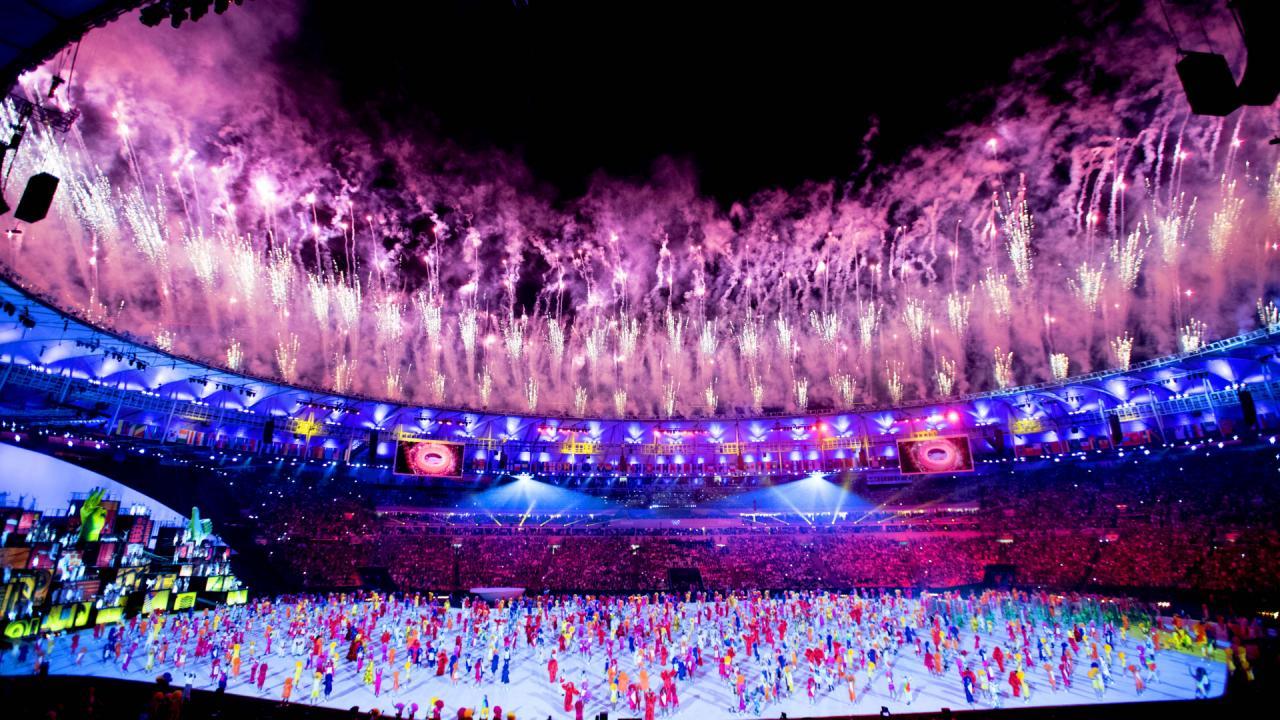 Openingsceremonie Olympische Spelen 2016 (1)