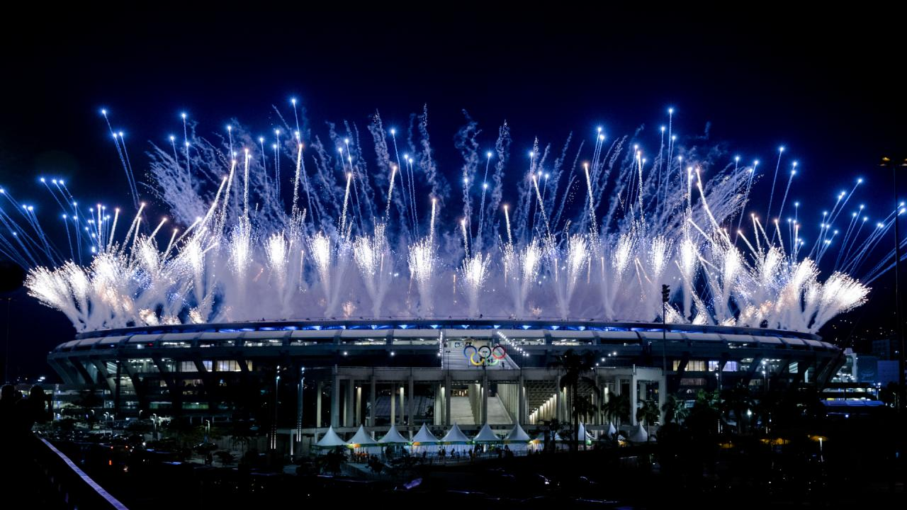 Openingsceremonie Olympische Spelen 2016 (10)