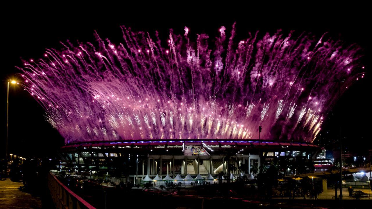 Openingsceremonie Olympische Spelen 2016 (4)