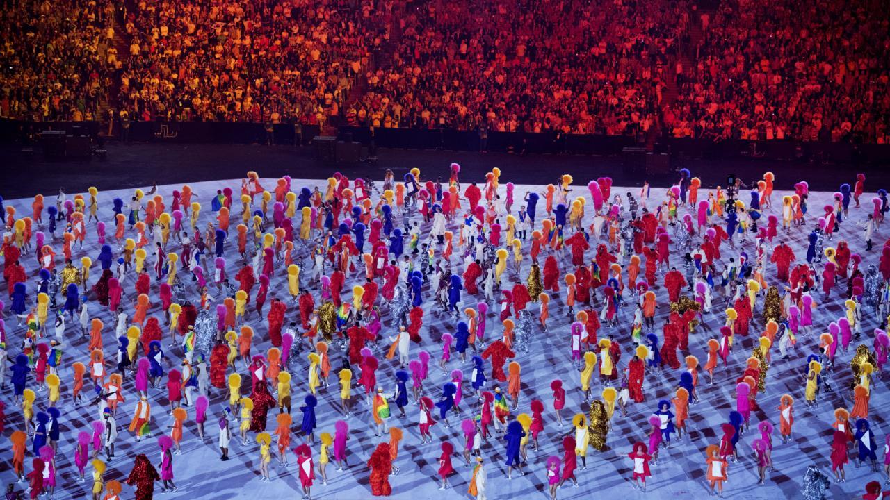 Openingsceremonie Olympische Spelen 2016 (8)