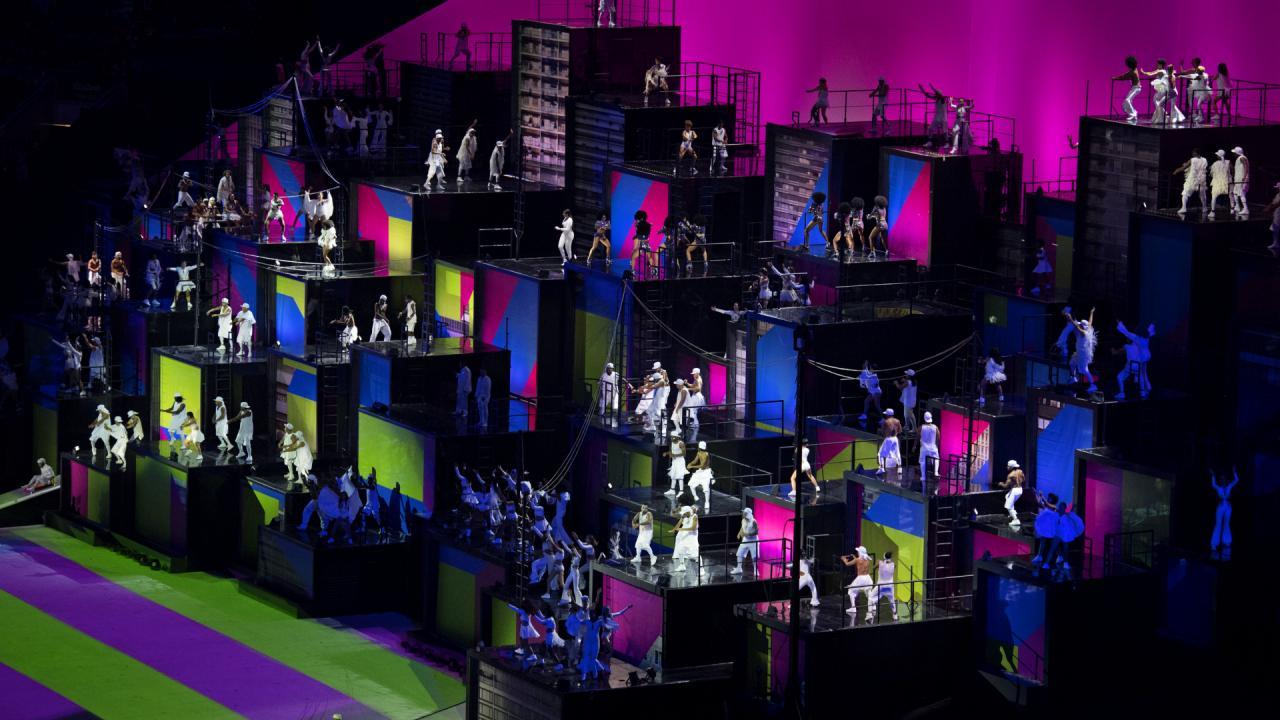 Openingsceremonie Olympische Spelen 2016 (9)