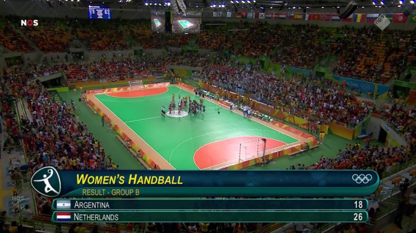 Overwinning Nederland handbal (8)