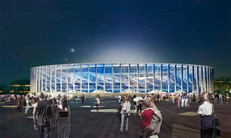 Nizhny Novgorod Stadium