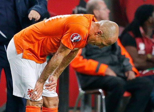 Arjen Robben zegt Oranje af