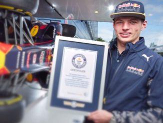Max Verstappen Guinness Book of Records