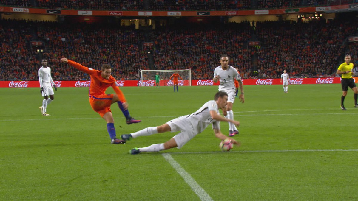 Nederland had geen recht op een penalty