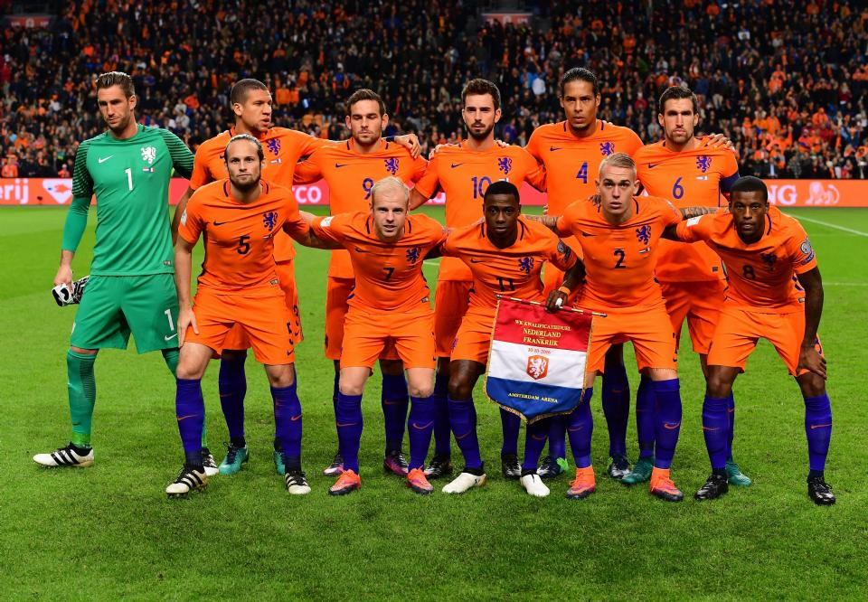 Rapportcijfers Oranje-internationals