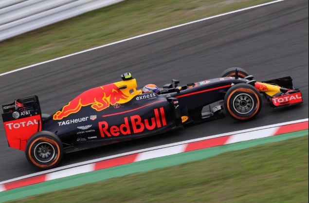 Verstappen tweede in Japan