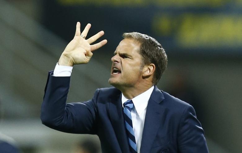 Frank de Boer ontslagen bij Inter