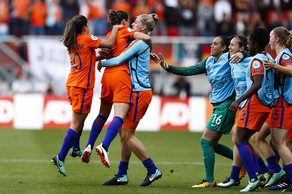 Oranje dames Europees Kampioen