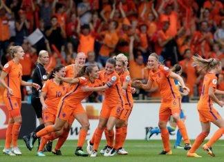 Oranje Leeuwinnen halve finale