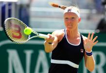 Kiki Bertens op Wimbledon