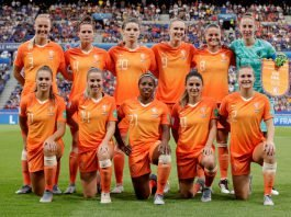 Oranje dames