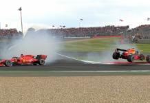 Vettel Verstappen crash