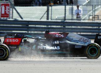 Crash Verstappen Hamilton