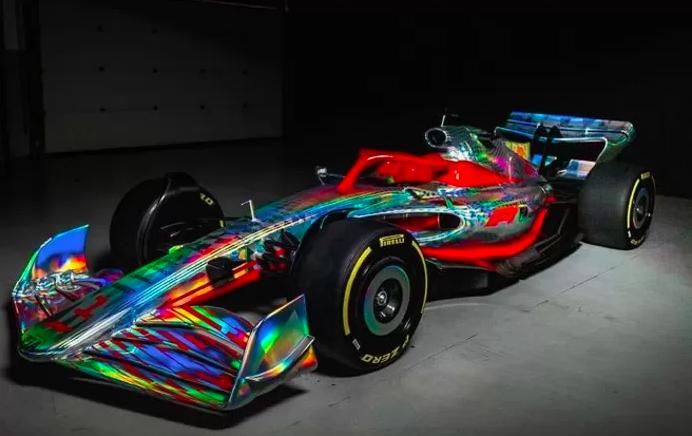 Formule 1-bolide 2022