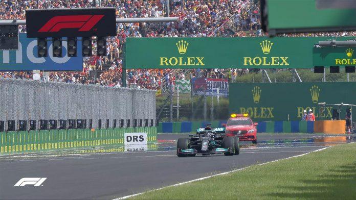 F1 Hamilton Hongarije