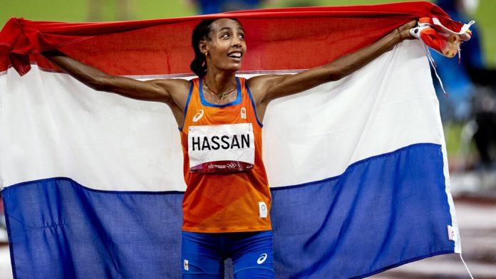 Sifan Hassan goud 1500 meter
