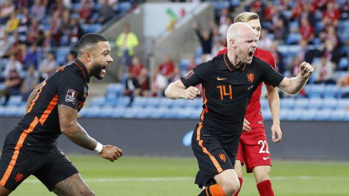 Gelijkspel Noorwegen - Nederland